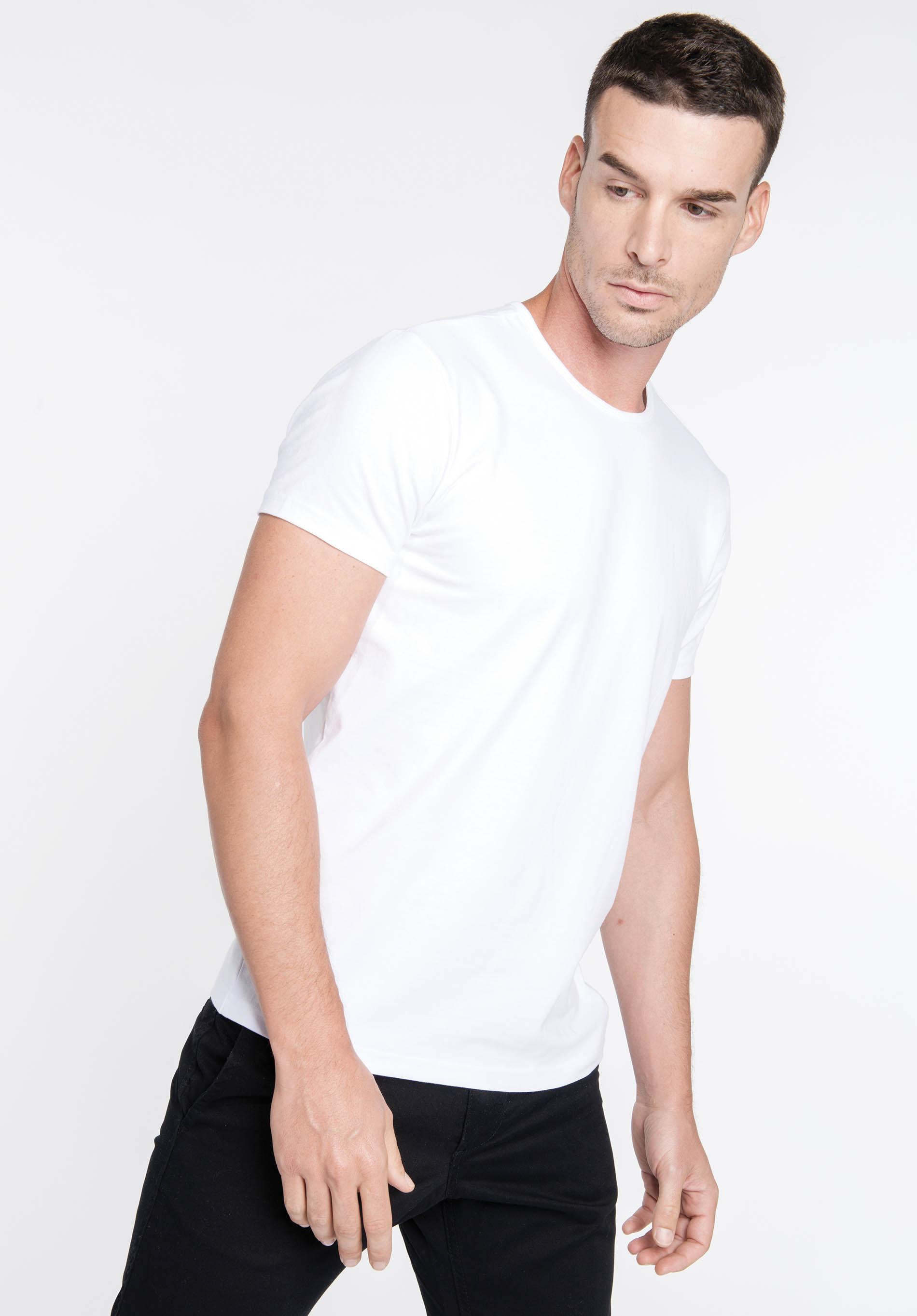 kariban eros herren t shirt rundhals g nstig online kaufen. Black Bedroom Furniture Sets. Home Design Ideas